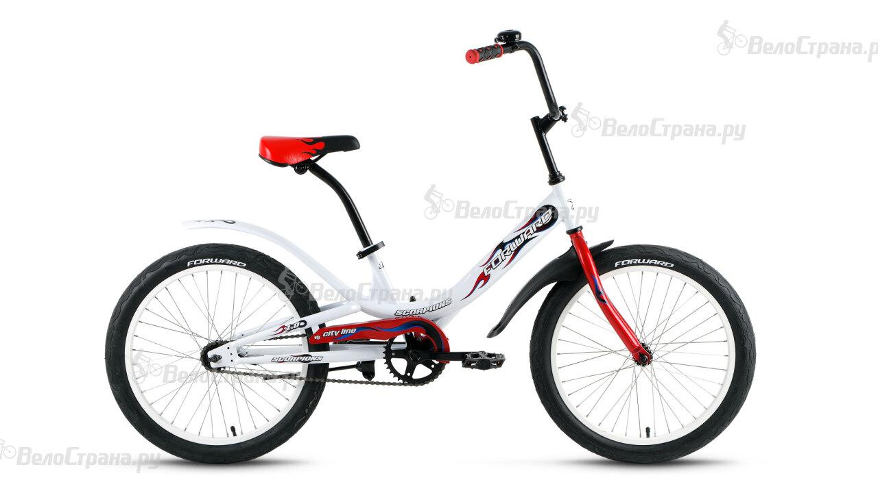 Велосипед Forward Scorpions 1.0 (2016) велосипед forward terra 1 0 2016 18 navy white
