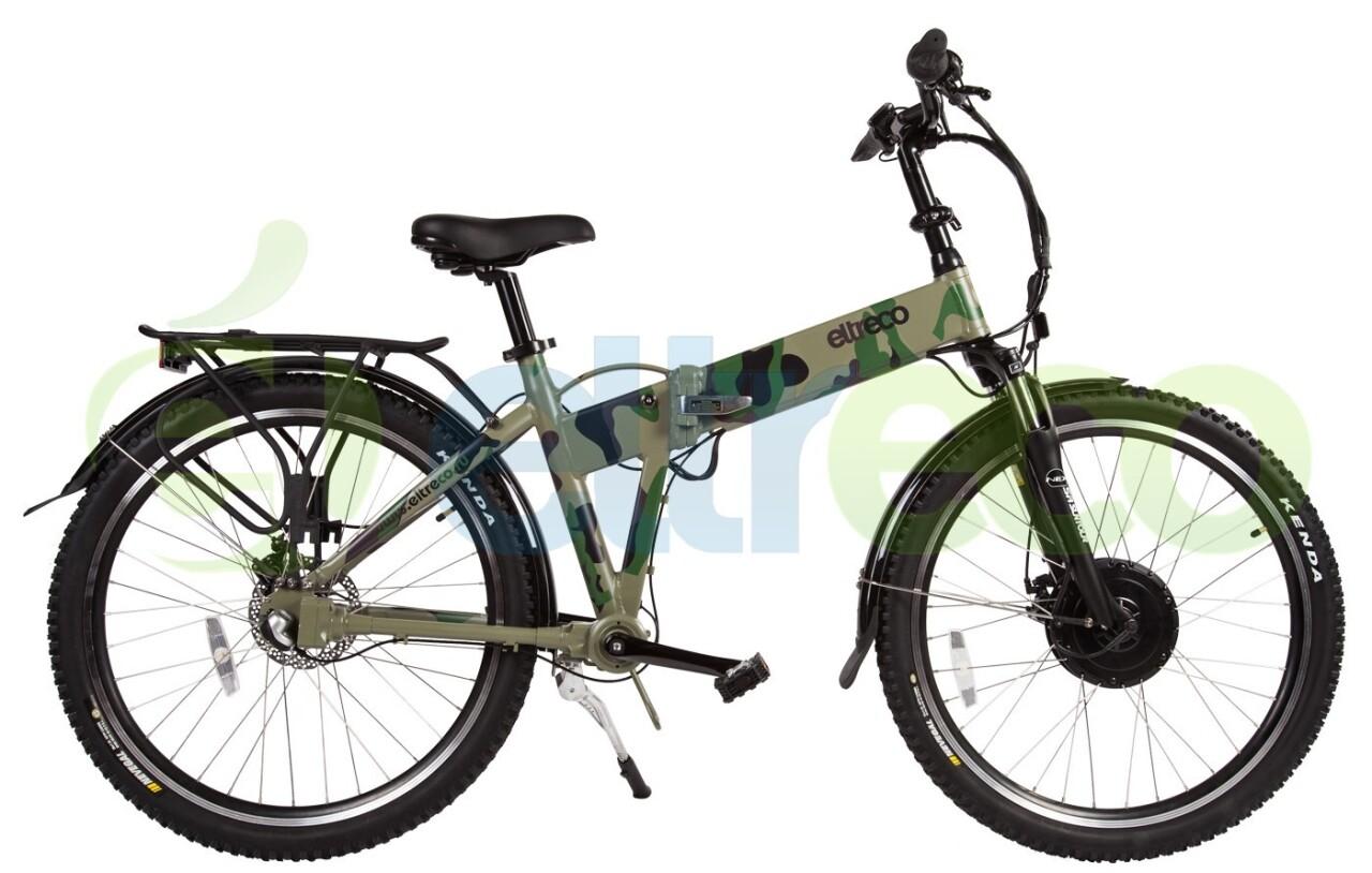 Велосипед Eltreco Patrol Кардан 28 Камуфляж (2015)
