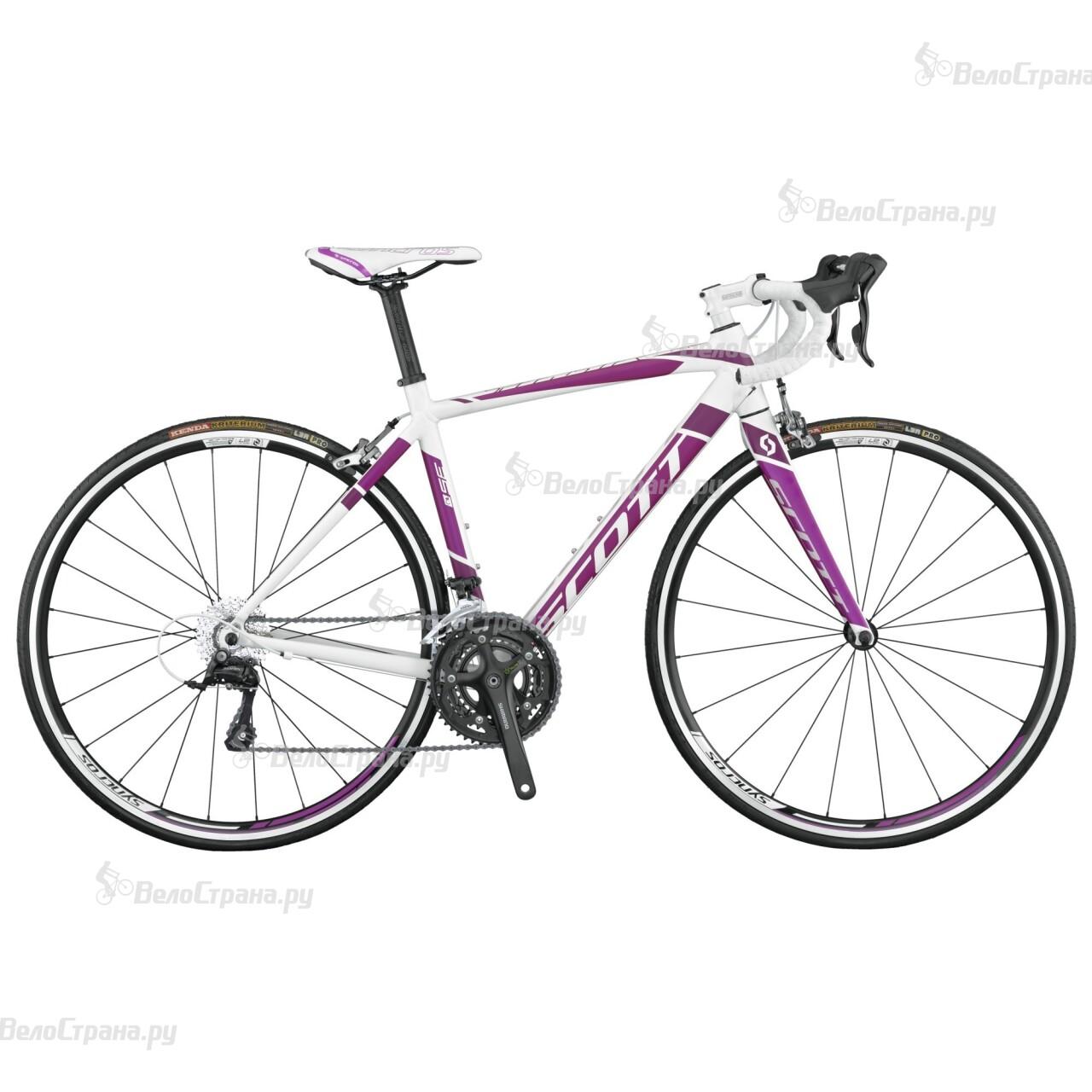 Велосипед Scott Contessa Speedster 35 (2015) велосипед scott contessa solace 35 2017