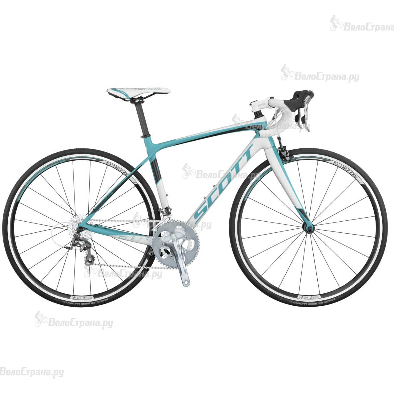 Велосипед Scott Contessa Solace 35 Compact (2015) велосипед scott solace 30 2015