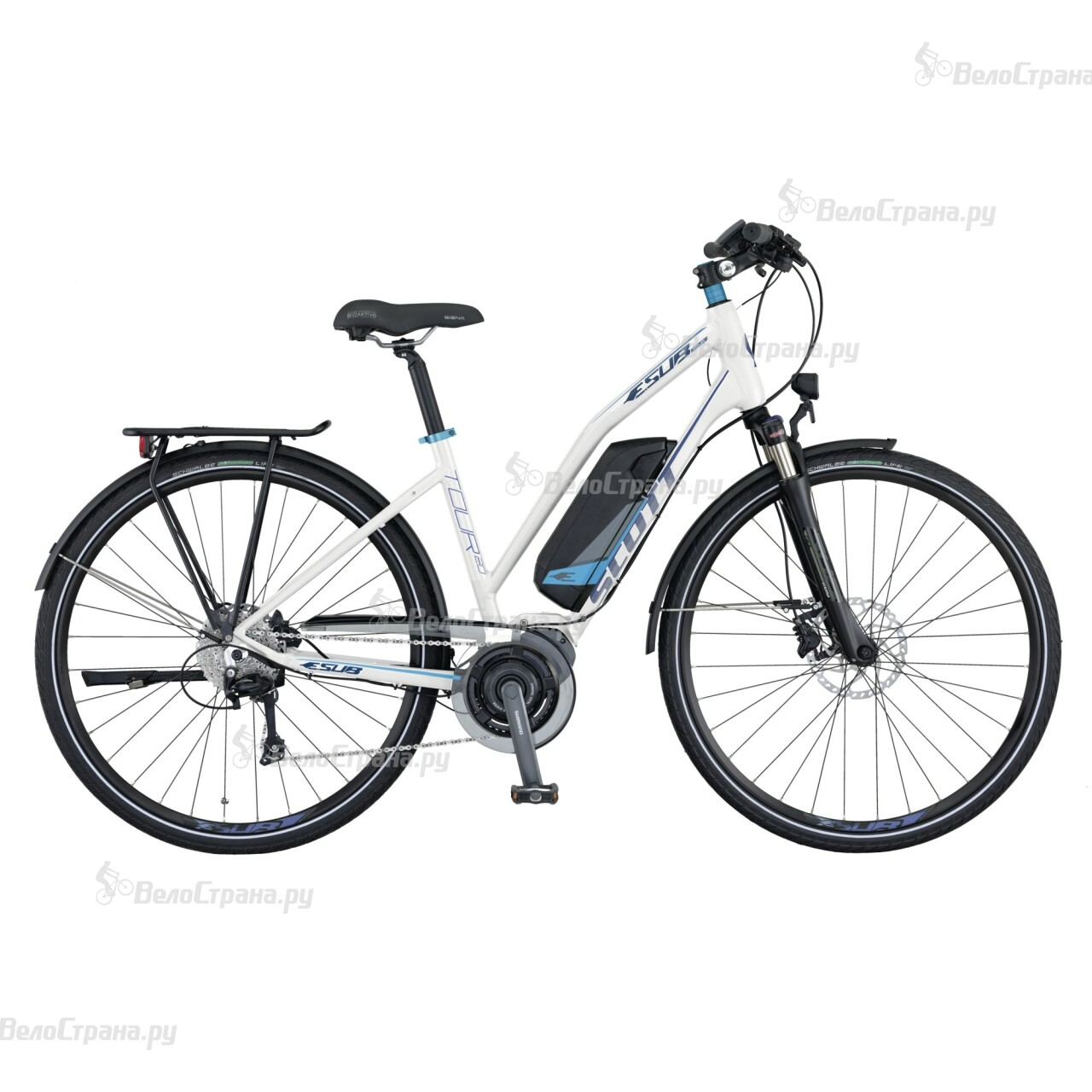 Велосипед Scott E.SUB Tour 20 Lady (2015) scott addict sl compact 2015