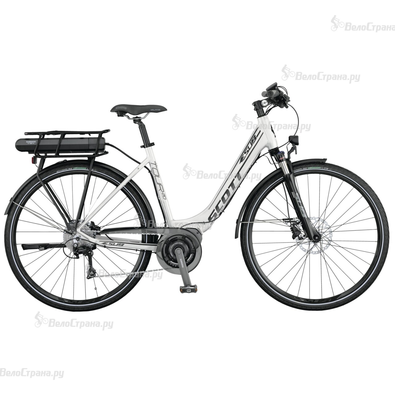 Велосипед Scott E.SUB Tour 20 Unisex (2015) scott addict sl compact 2015