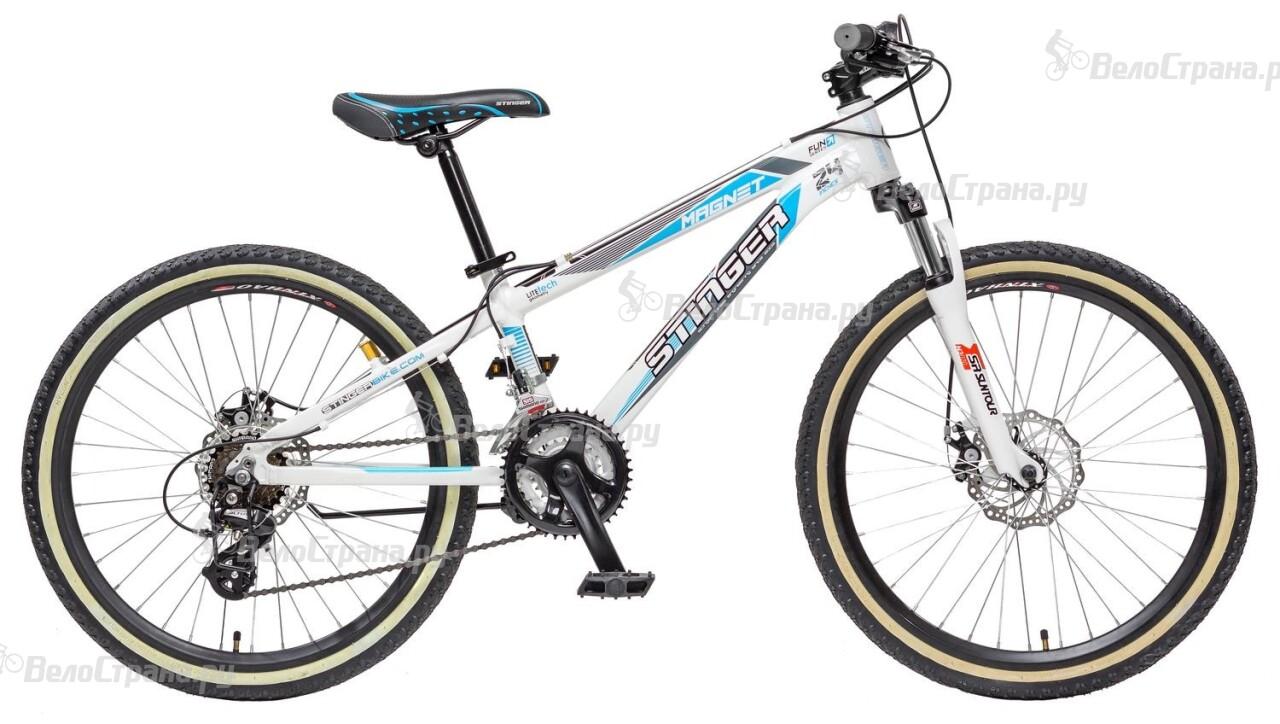 Велосипед Stinger Magnet Jr 24 (2015) велосипед stinger magnet kid 20 2016