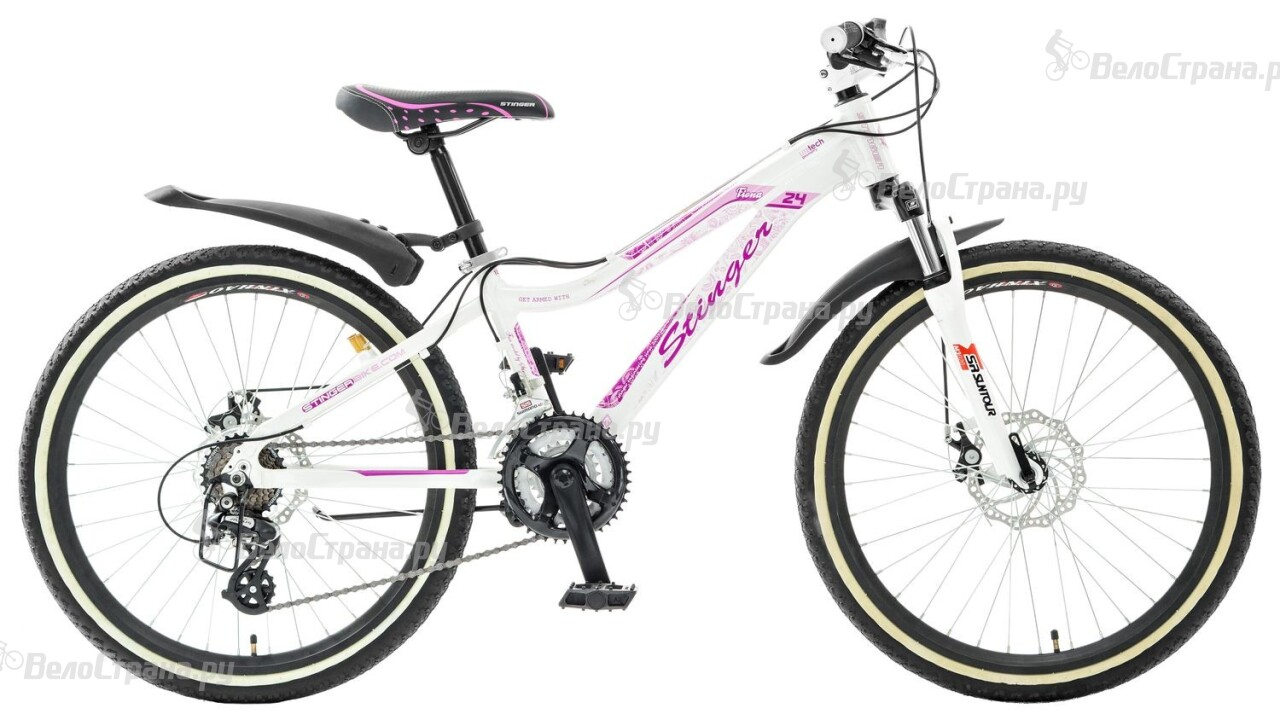 Велосипед Stinger Fiona JR 24 (2015) велосипед stinger fiona kid 20 2016