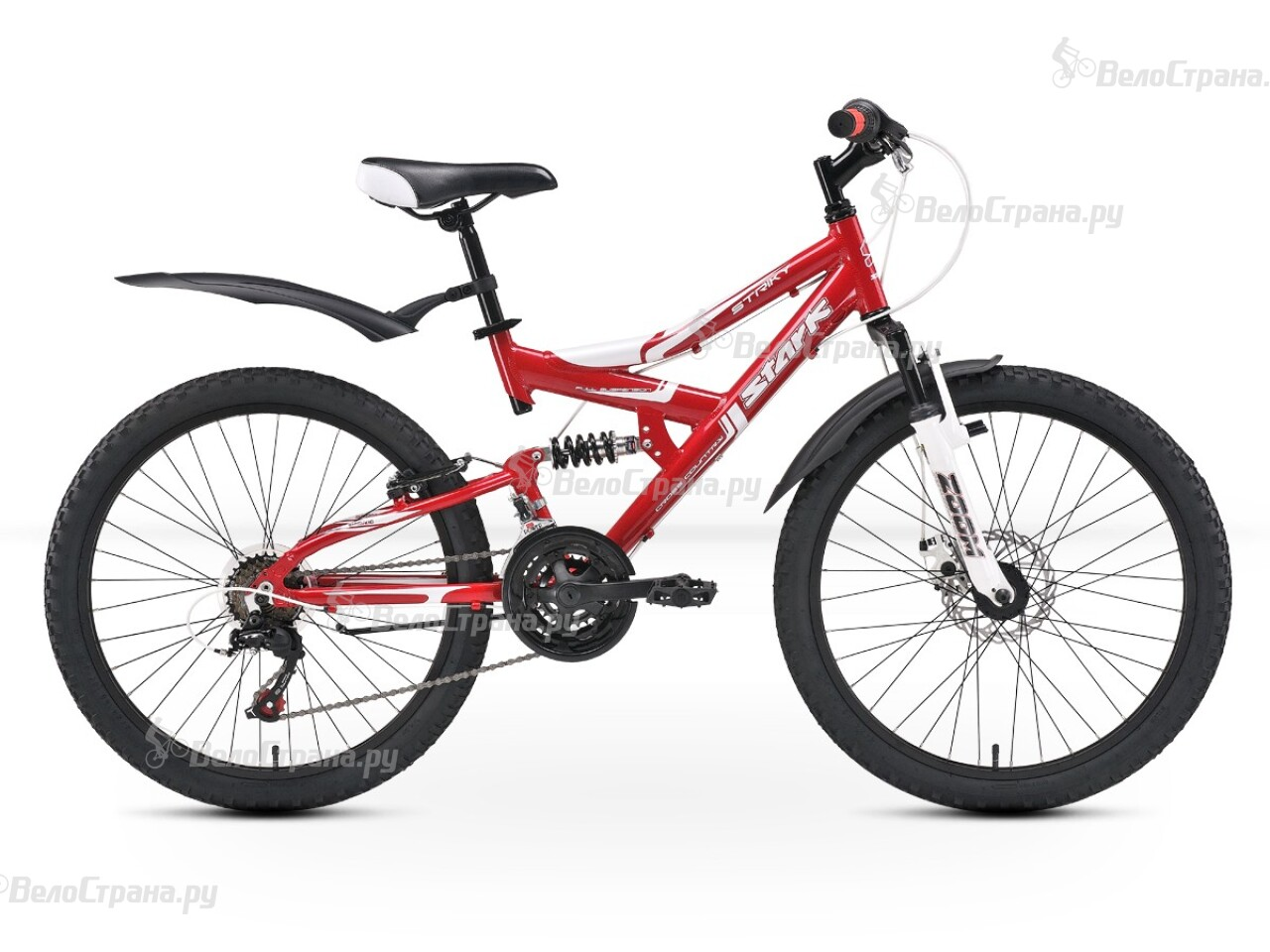 Велосипед Stark Striky FS Disc (2013) велосипед challenger mission lux fs 26 черно красный 16