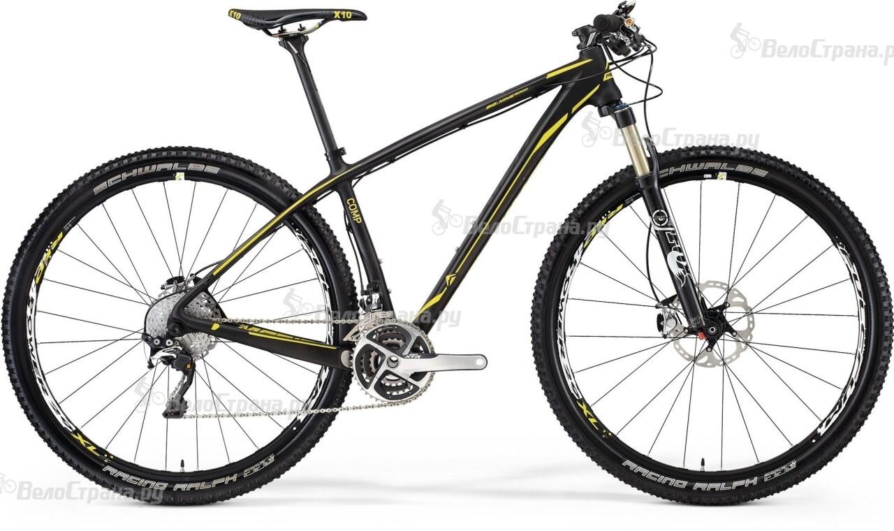 Велосипед Merida Big.Nine CF 5000 (2014)